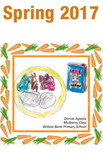 Spring 2017 by Dorcas Ayoola - Mulberry Class - Willow Bank Primary School - menu cover